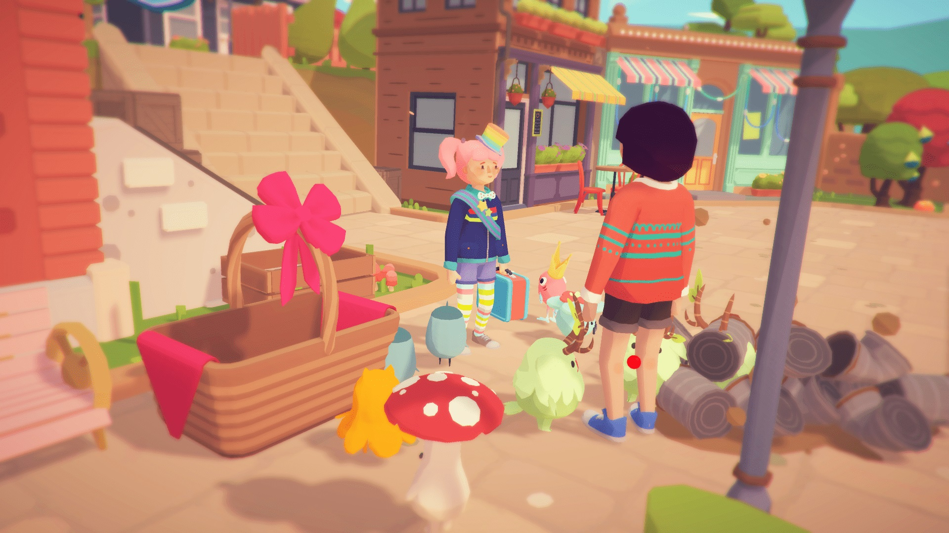 Ooblets roadmap points to a new region in September screenshot