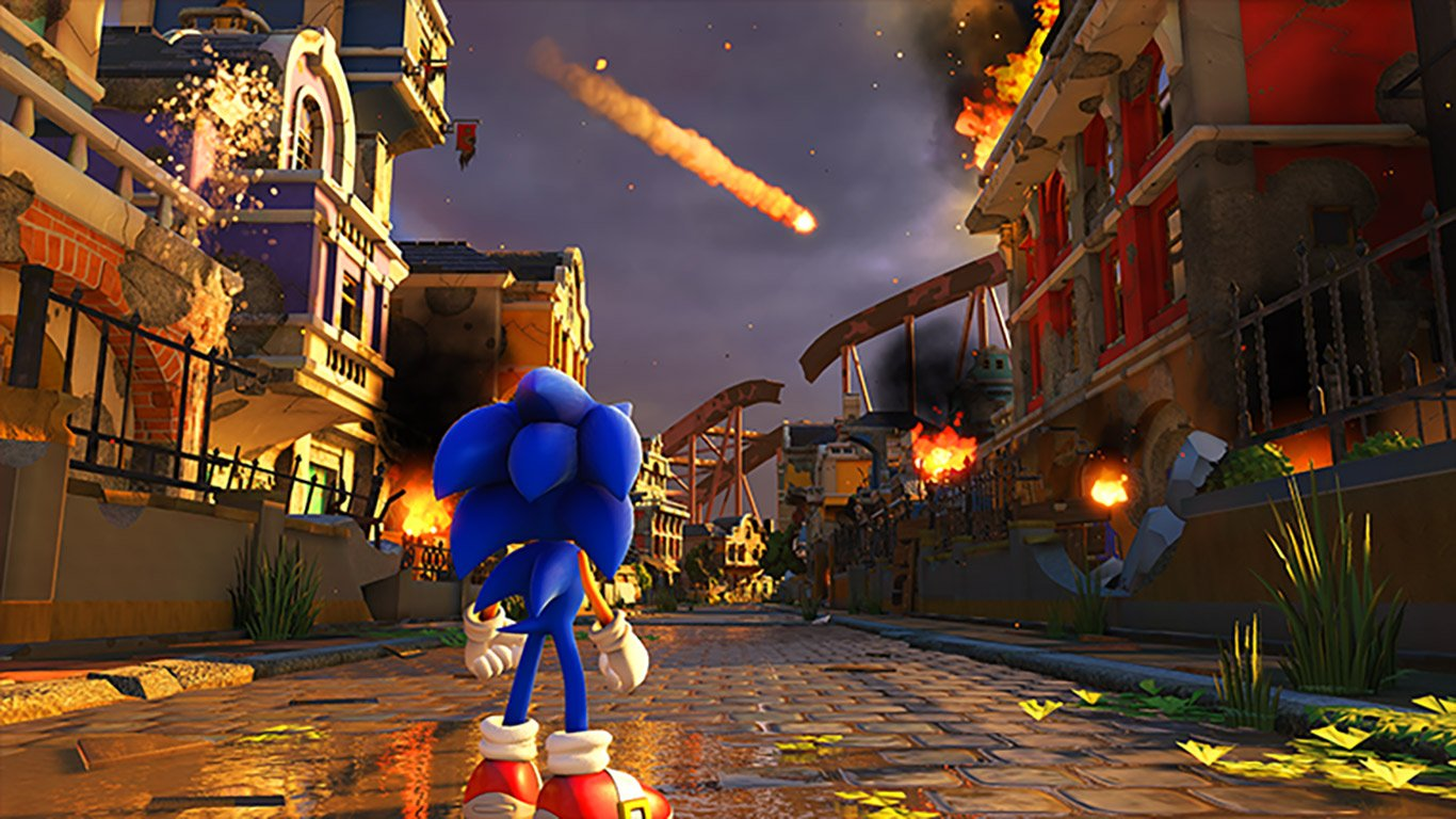 Another Sega-on-Switch double pack is on the way, with Sonic Forces gumming half of it screenshot