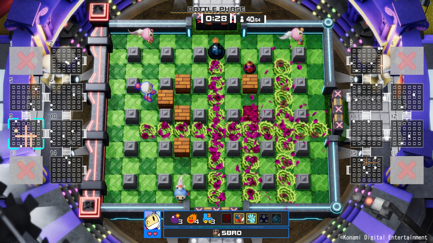 Super Bomberman R Online is out September 1 for Stadia Pro players screenshot