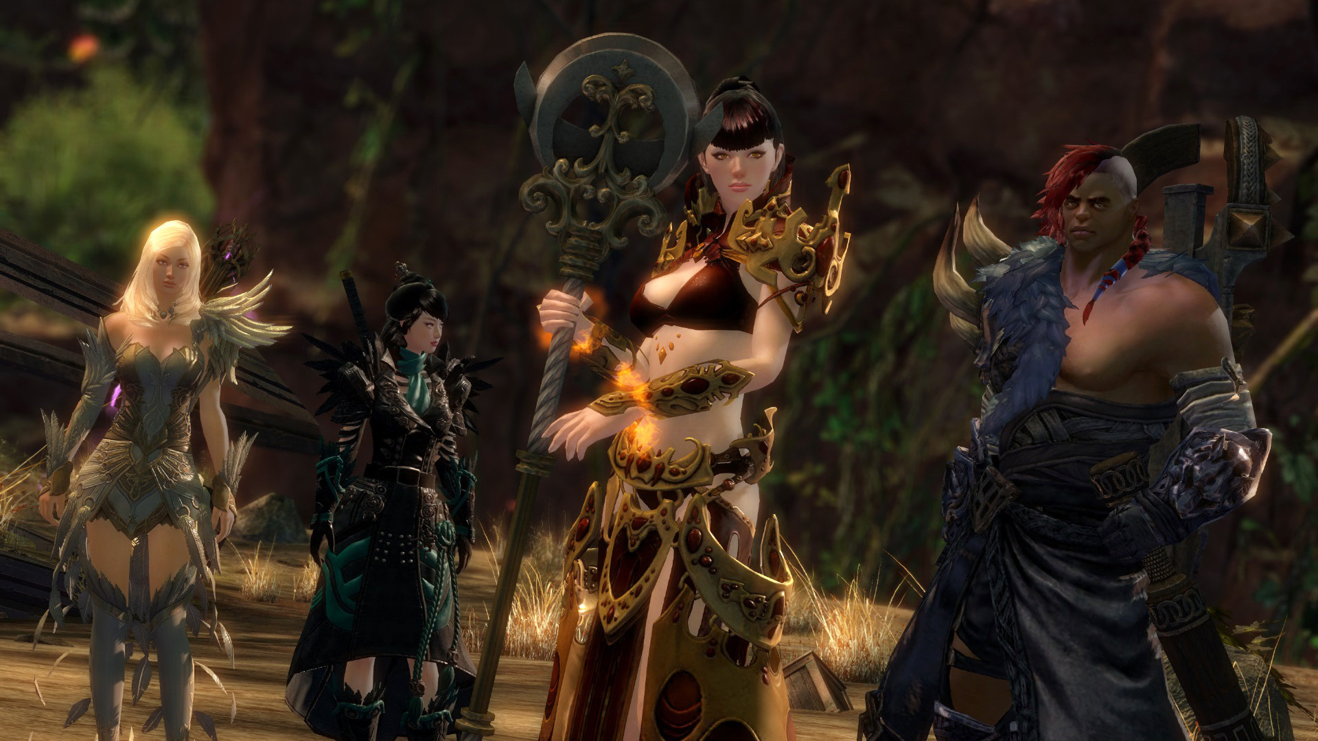 Guild Wars 2 will be playable on Steam in November but accounts won't transfer screenshot