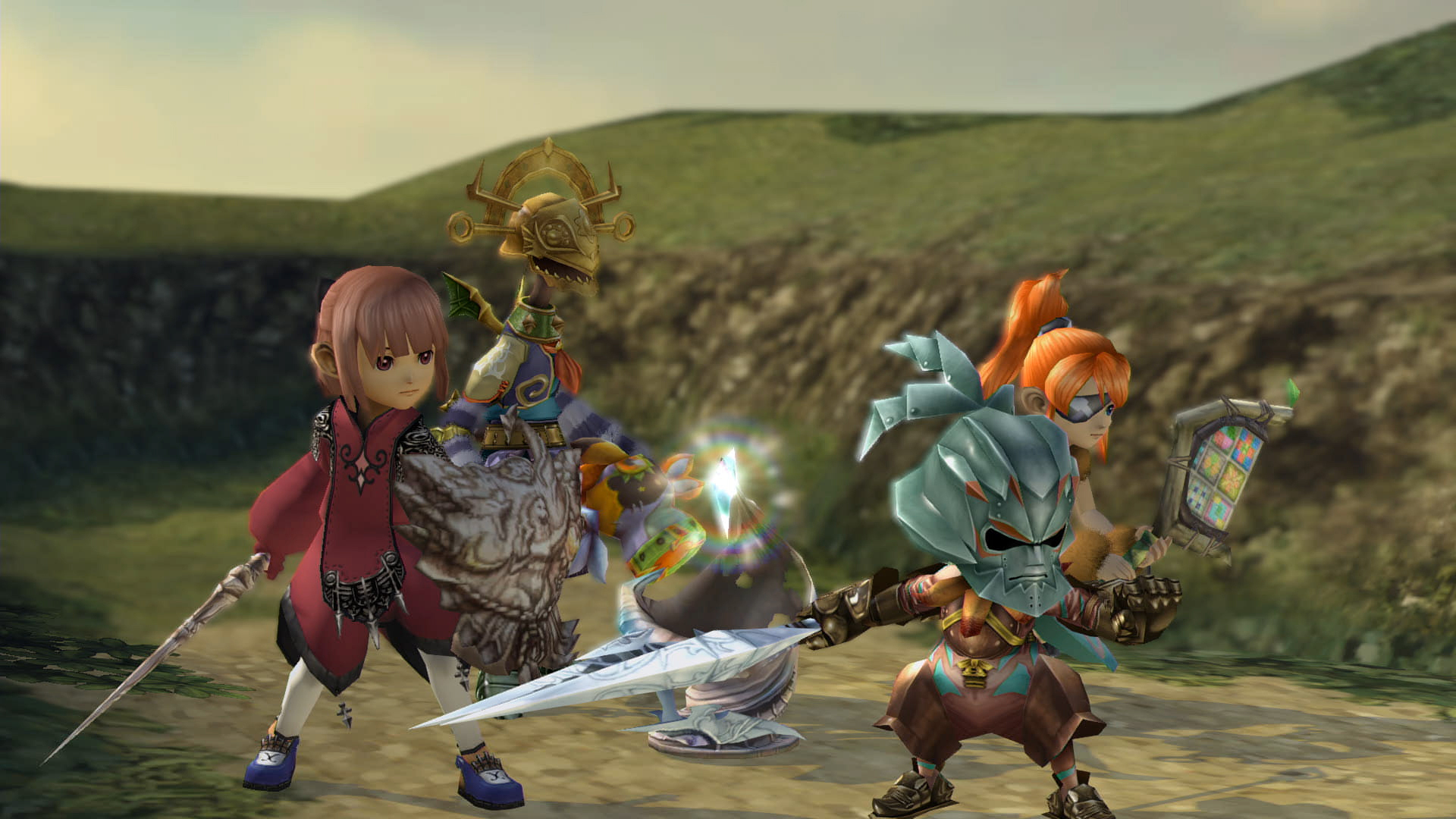Review in Progress: Final Fantasy Crystal Chronicles Remastered Edition screenshot