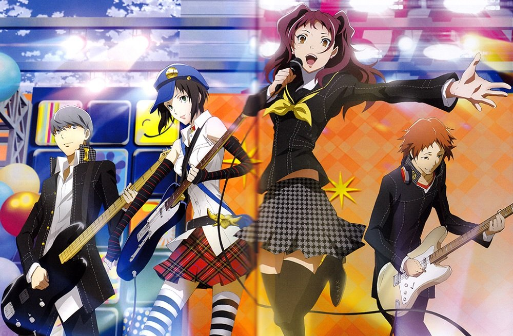 Persona 4 Golden anime now available on Funimation network