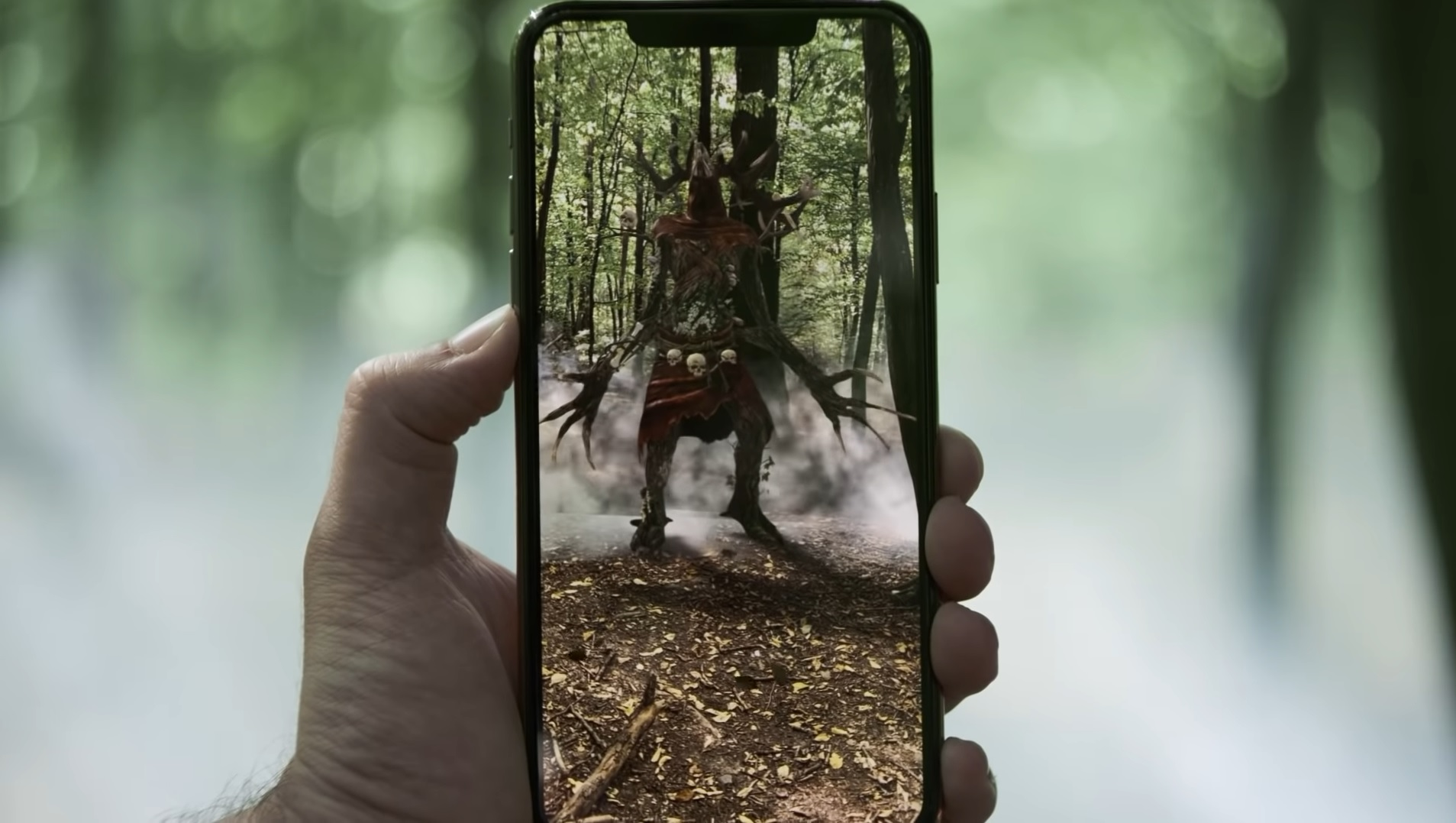 The Witcher: Monster Slayer is a Pokemon Go-like mobile AR game screenshot