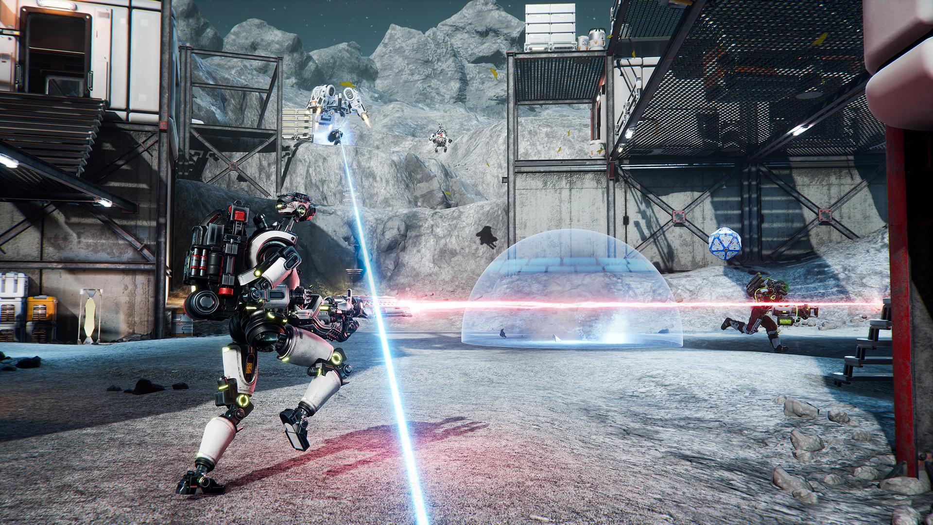 Lemnis Gate is a galaxy-brain shooter stuck in a time loop screenshot