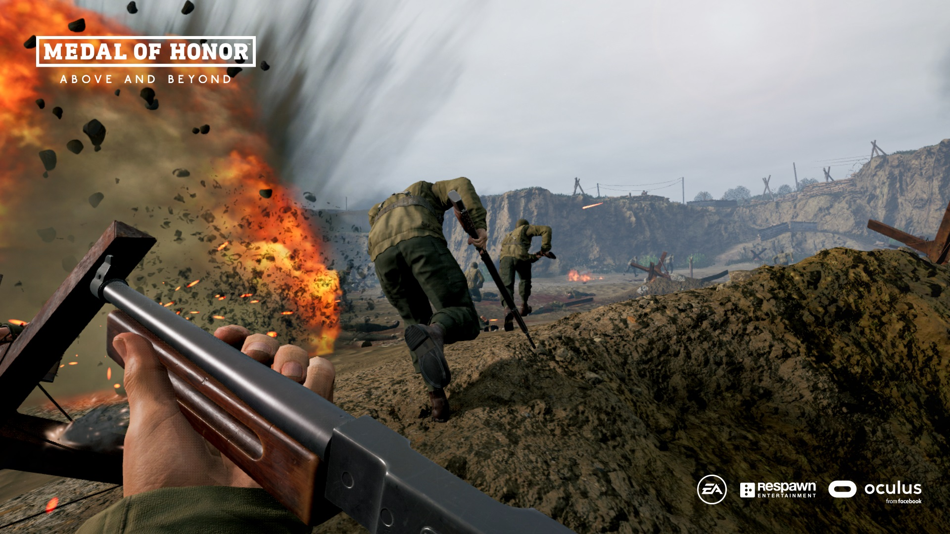 Respawn's Medal of Honor VR game actually looks pretty damn cool screenshot