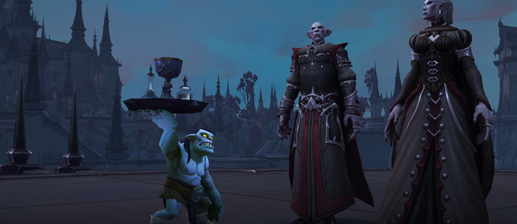 Here is the schedule for World of Warcraft: Shadowlands' first raid, Castle Nathria screenshot