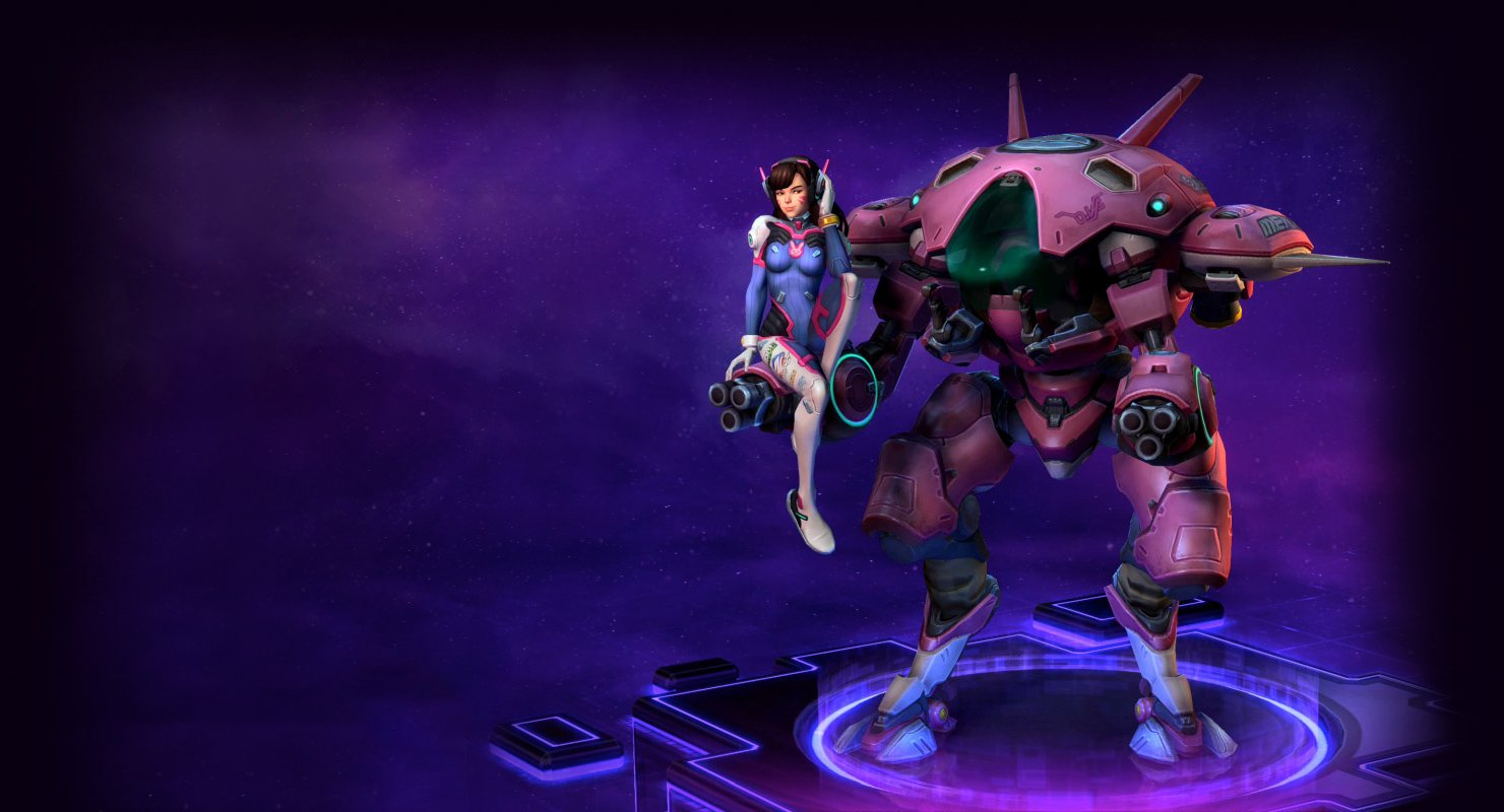 Here's a look at Heroes of the Storms' D.va and Gazlowe reworks screenshot