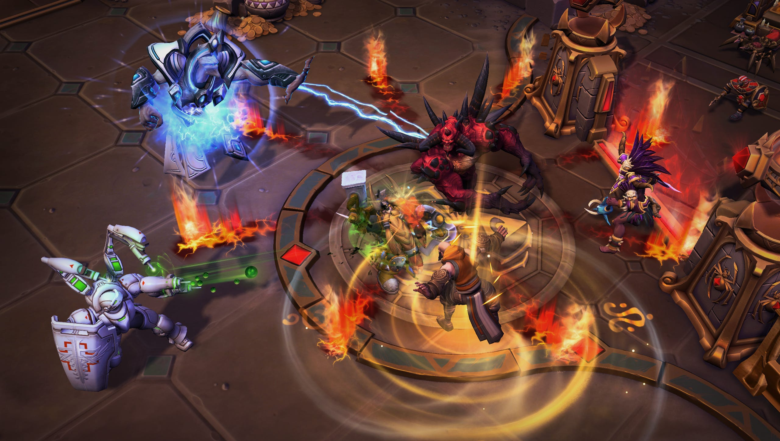 Heroes of the Storm is eliminating Brawl and making ARAM an official mode screenshot