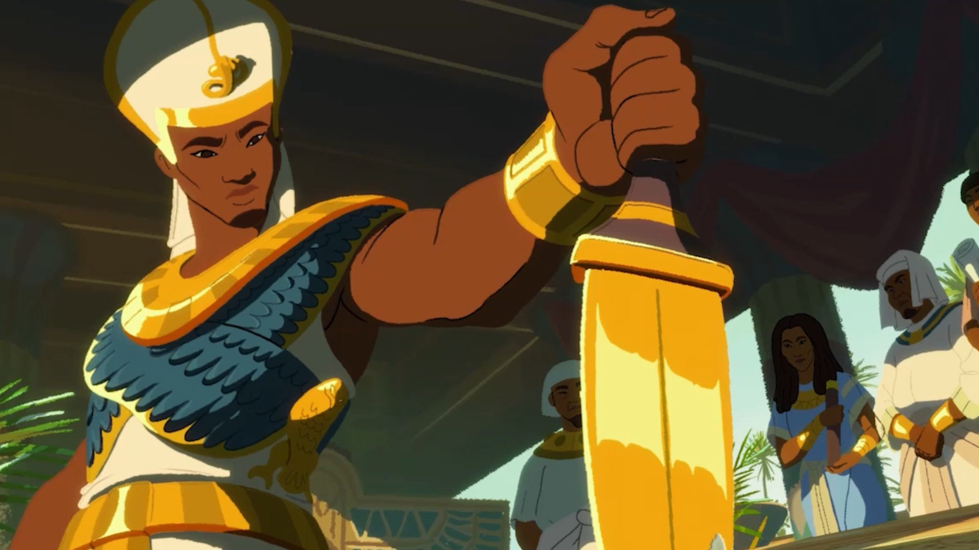 Pharaoh: A New Era is a 2021 remake of the old city-builder screenshot