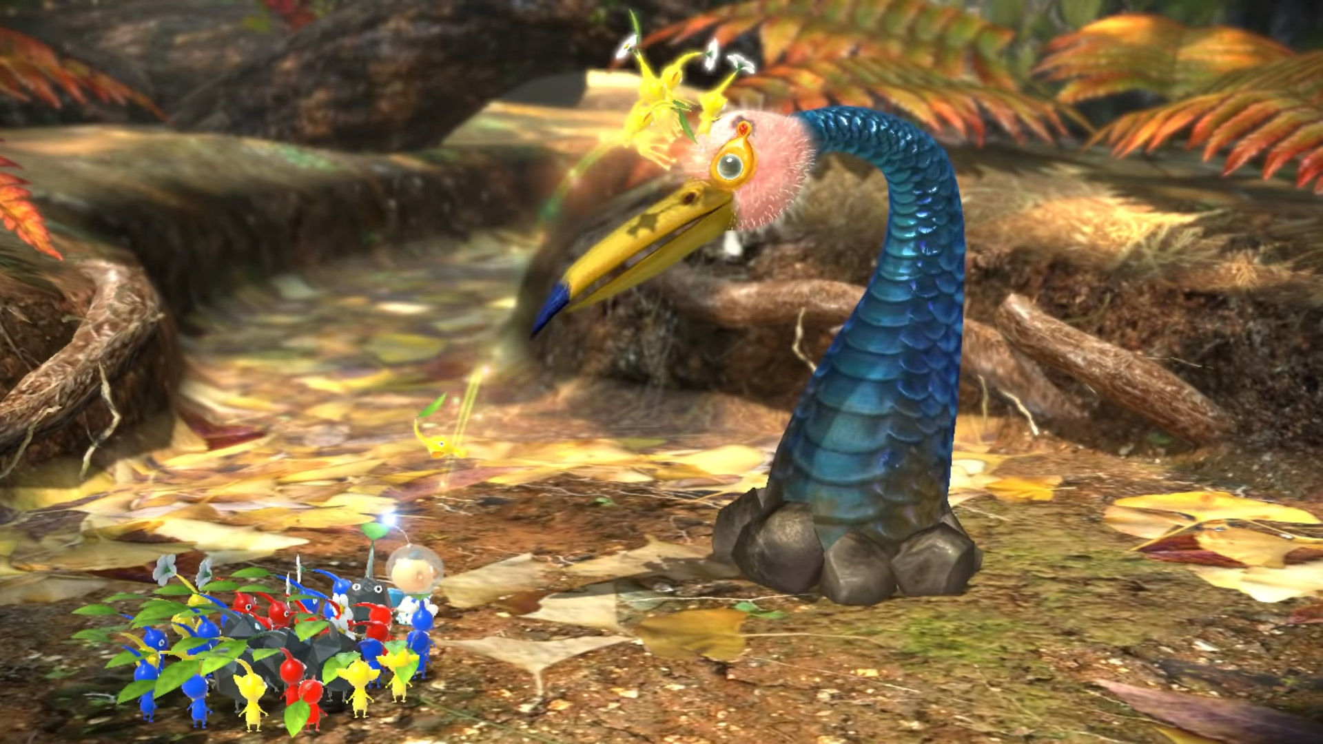 This Pikmin 3 Deluxe video will get you up to speed with cute illustrations screenshot