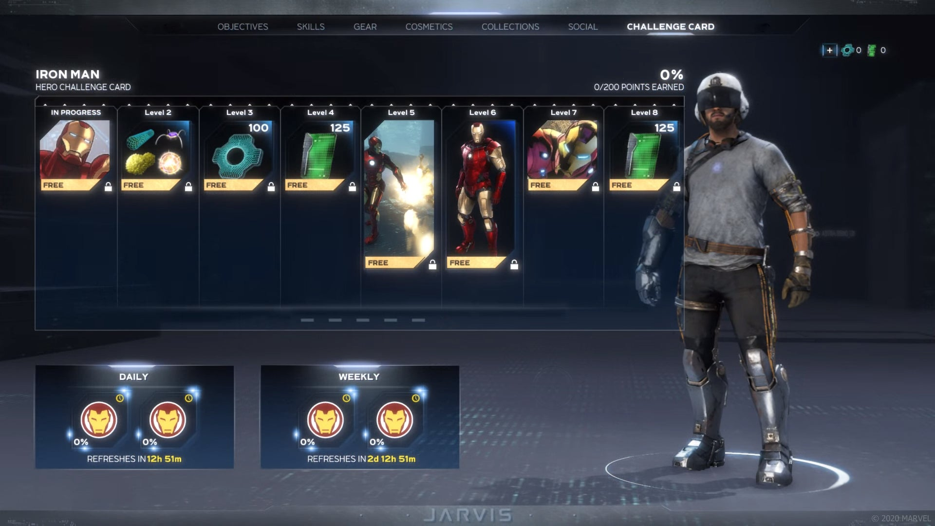 Square Enix details how the cosmetic system works in Marvel's Avengers, right before it launches