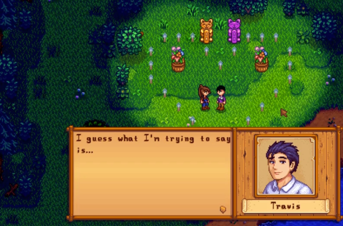 This Stardew Valley mod marriage proposal is so wholesome screenshot