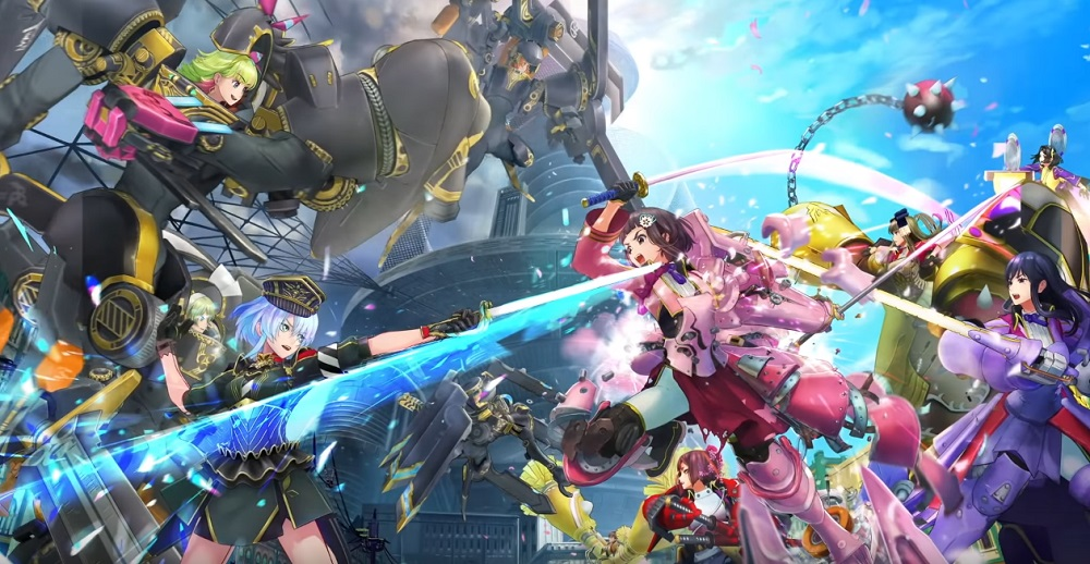 Sega's Project B.L.A.C.K. is new mobile title Sakura Revolution screenshot