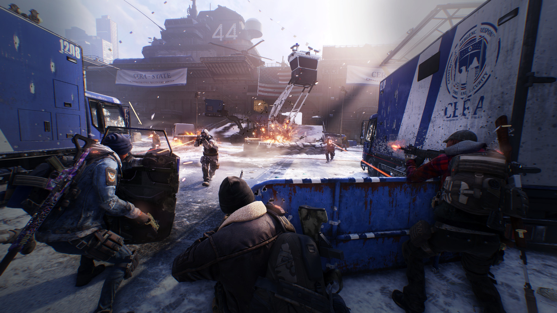 The Division is free to own on PC for a few more days screenshot