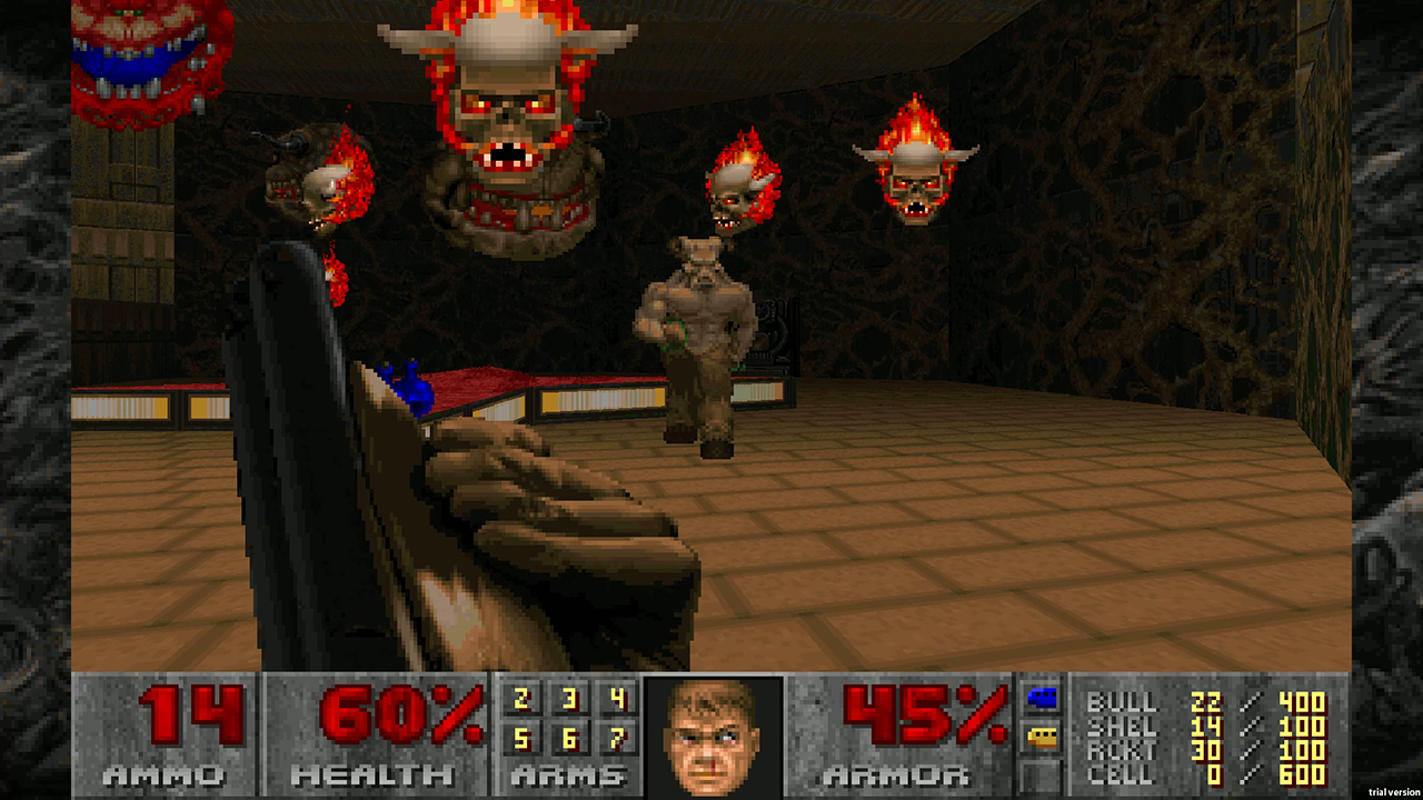 Doom and Doom II just got gyro aiming on Switch screenshot