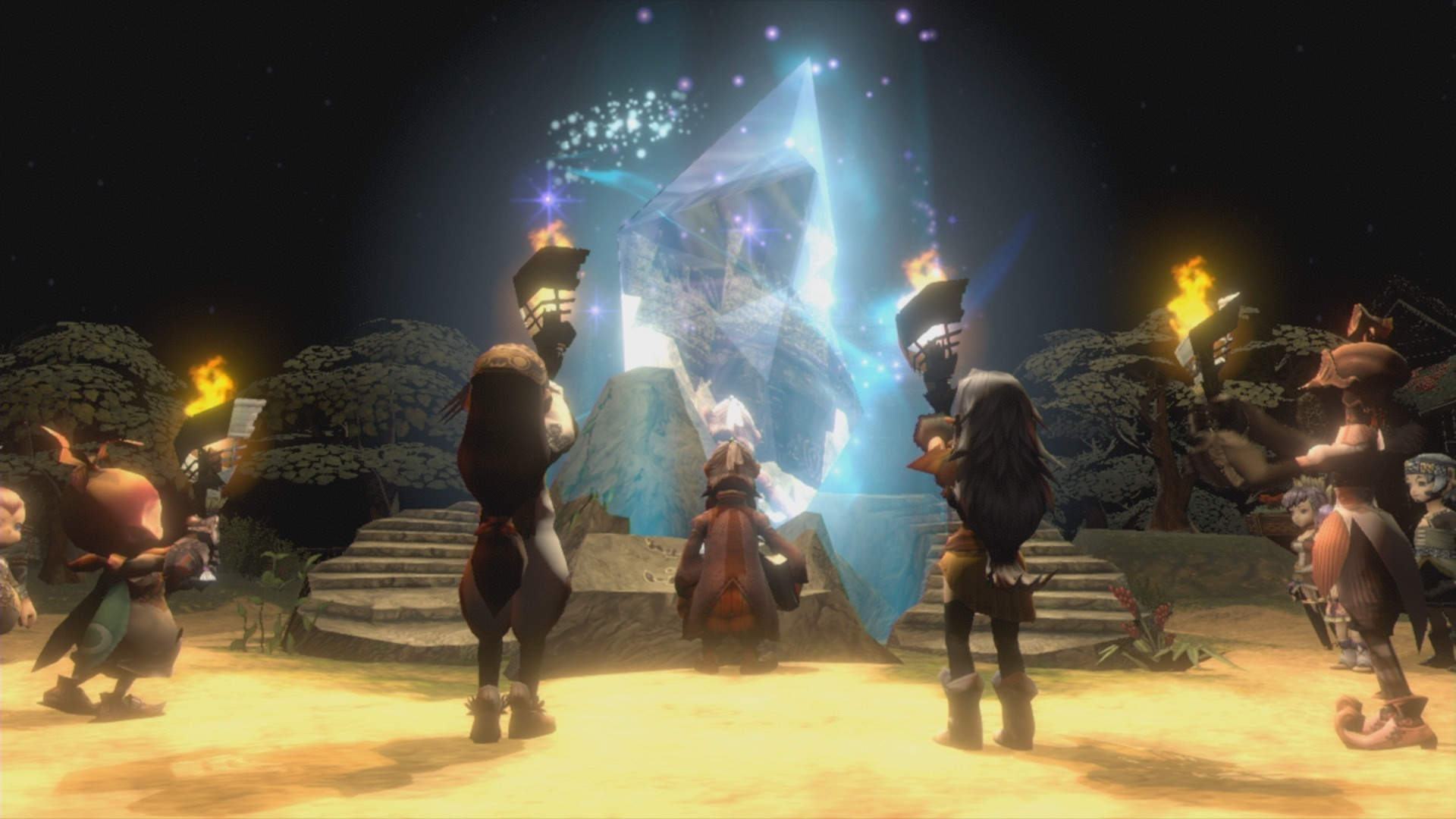 Square Enix apologizes for Final Fantasy Crystal Chronicles' busted multiplayer screenshot