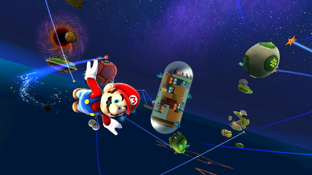 You can use a Pro Controller for Super Mario 3D All-Stars screenshot