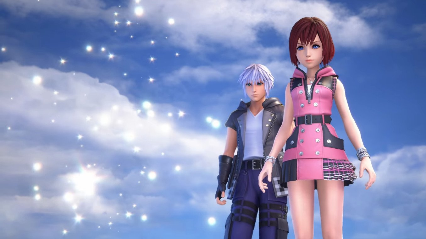 Nomura: Kairi was the 'best choice' to star in Kingdom Hearts: Melody of Memory screenshot