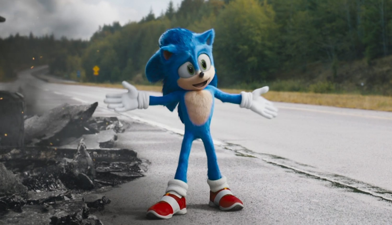 Official Sega ad claims that Sonic is getting 'new games' in 2021 screenshot