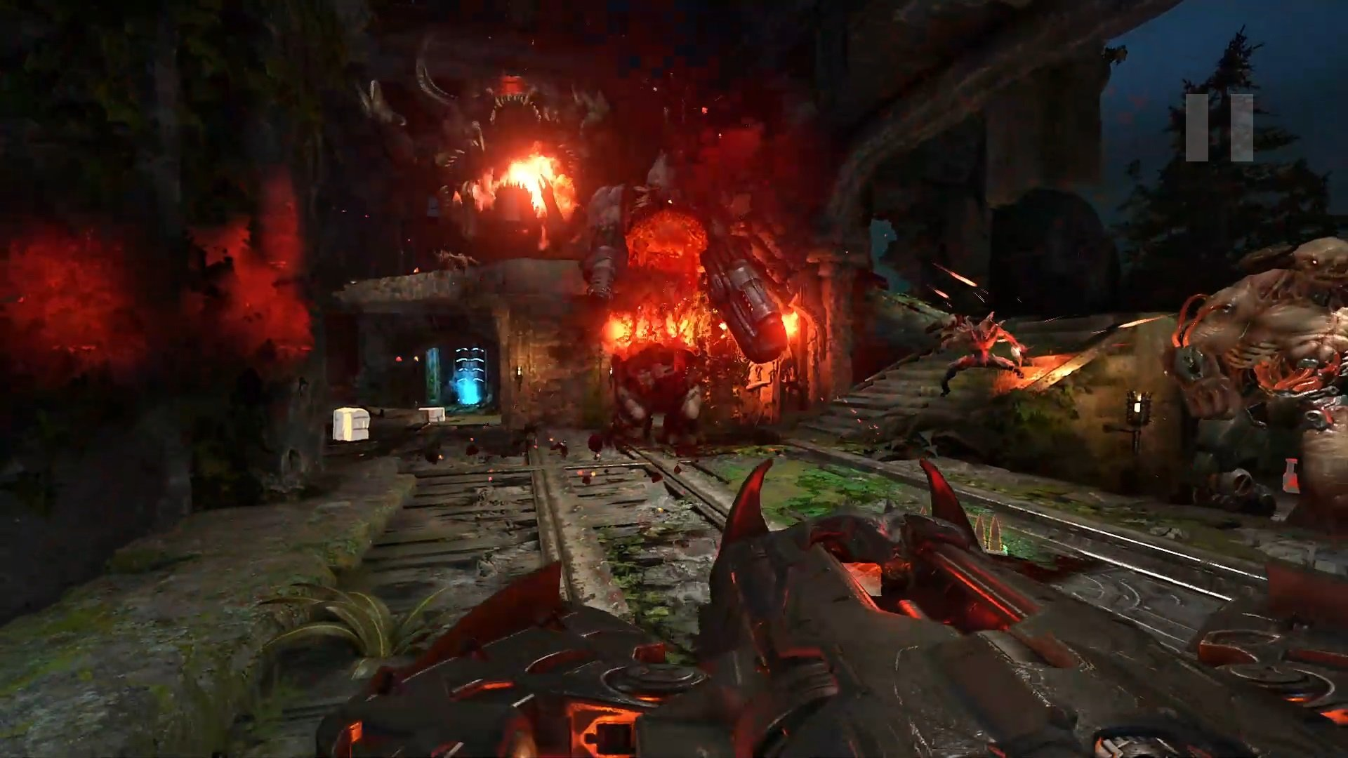 This Doom Eternal horde mode mod looks like it's to die for screenshot