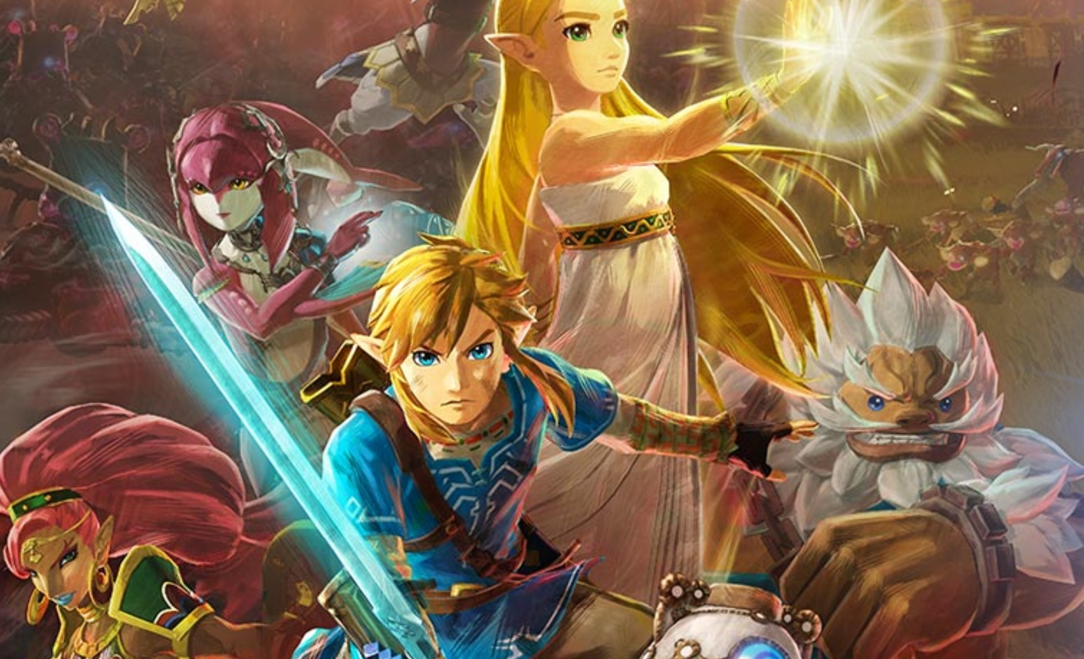 Nintendo surprise-announces Breath of the Wild-focused Hyrule Warriors: Age of Calamity for Switch screenshot