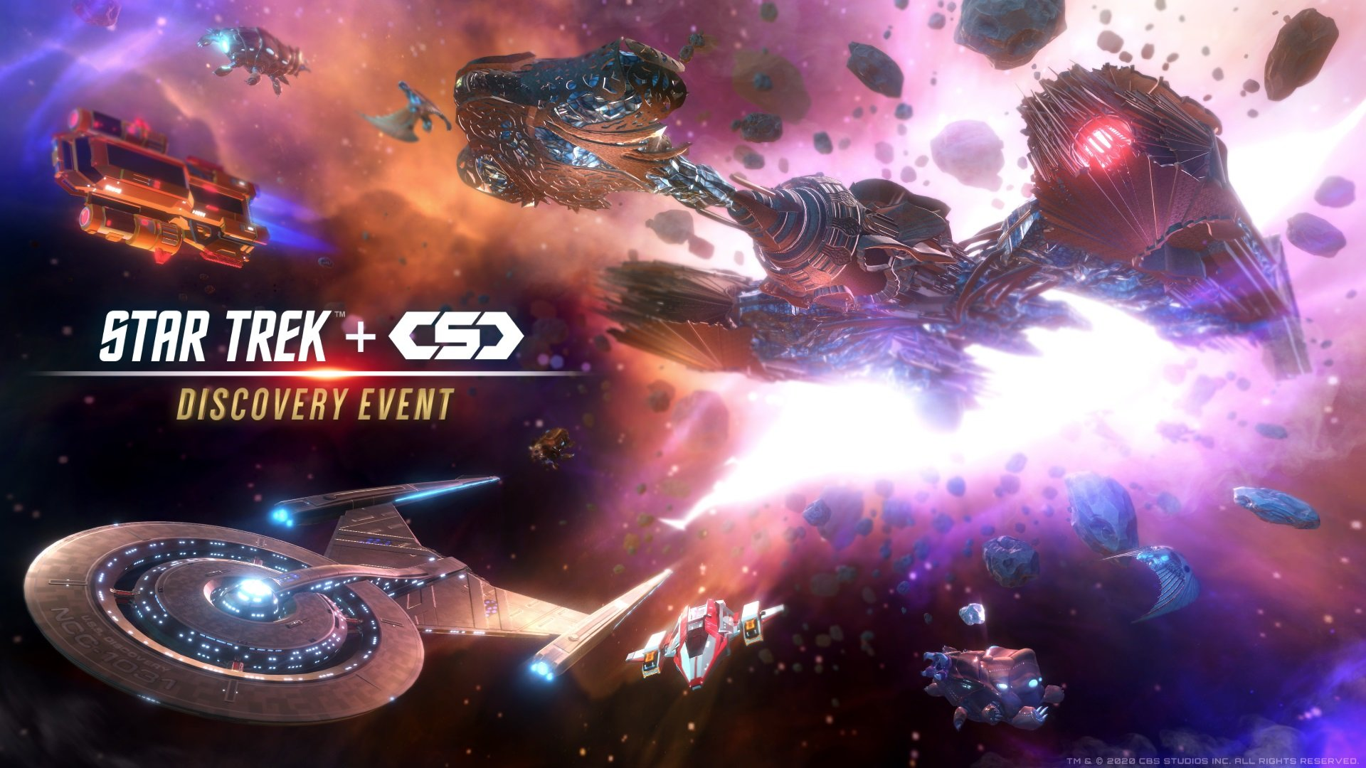 Contest: Celebrate Star Trek Day with Discovery items for space MMO CSC screenshot