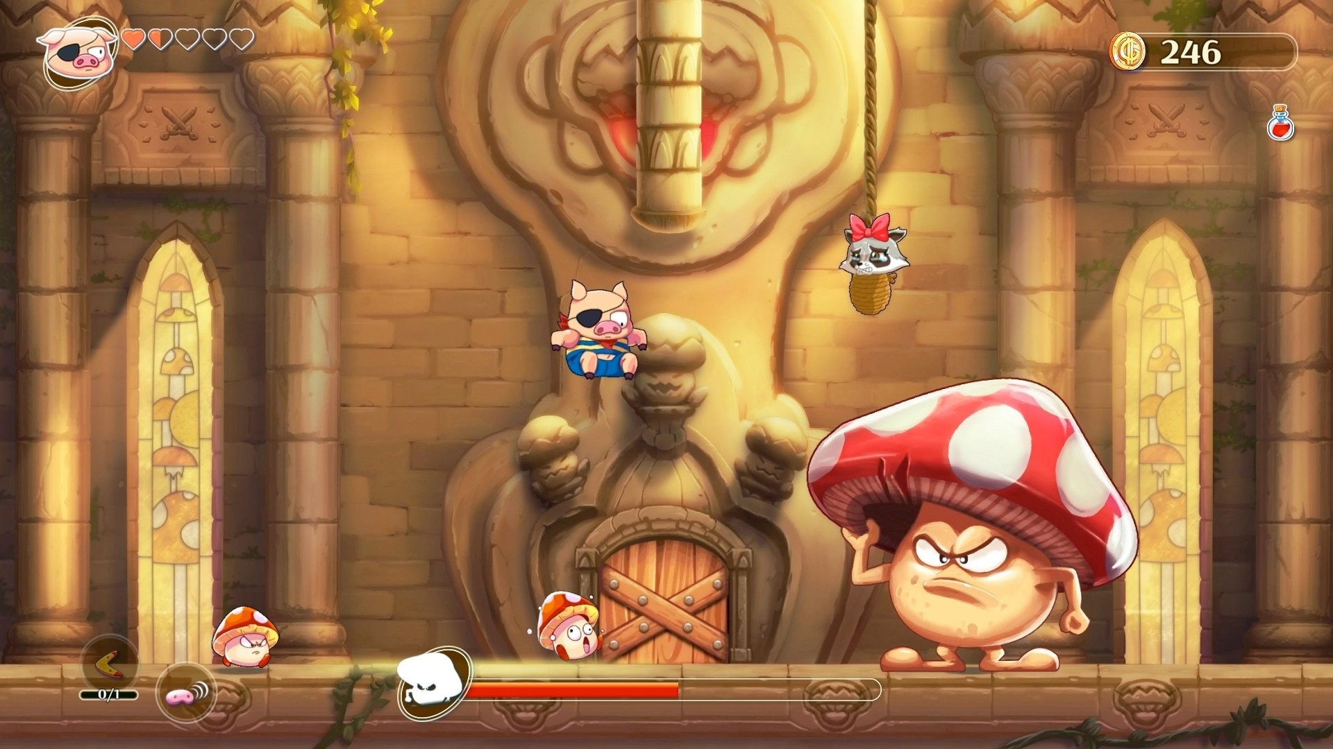 Monster Boy and the Cursed Kingdom is getting a free 4K, 120FPS next-gen update screenshot