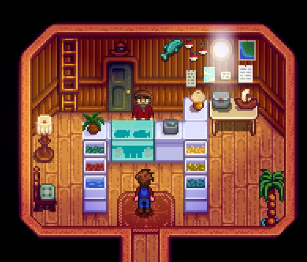 Stardew Valley creator needs to decide what the 'next step' is after update 1.5, which could be more updates or a sequel screenshot