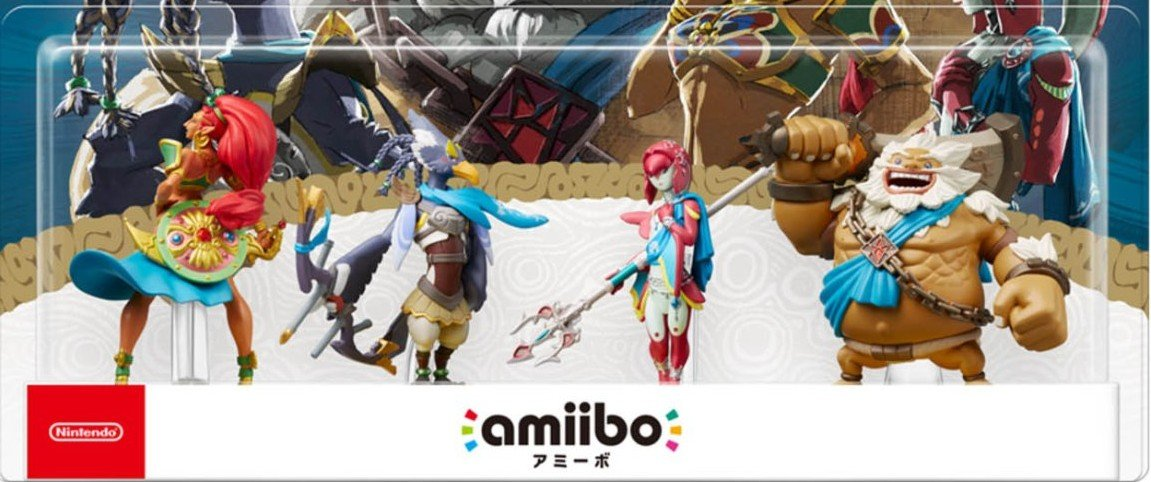Nintendo is restocking the four Zelda: Breath of the Wild Champion amiibo for Age of Calamity screenshot