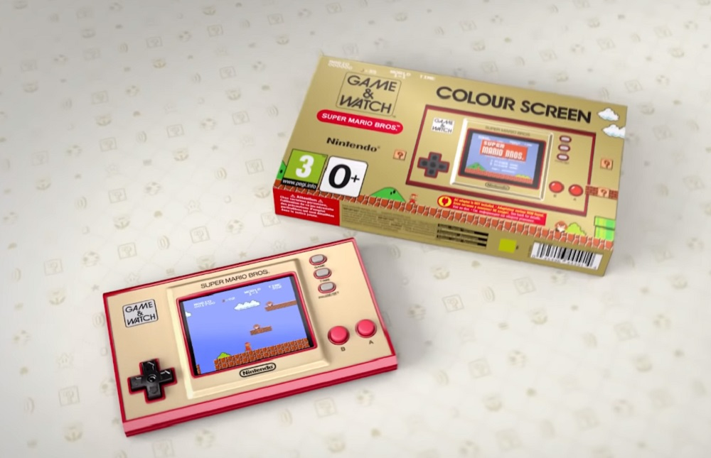 Nintendo gives us a more in-depth look at that fancy new Game & Watch device screenshot