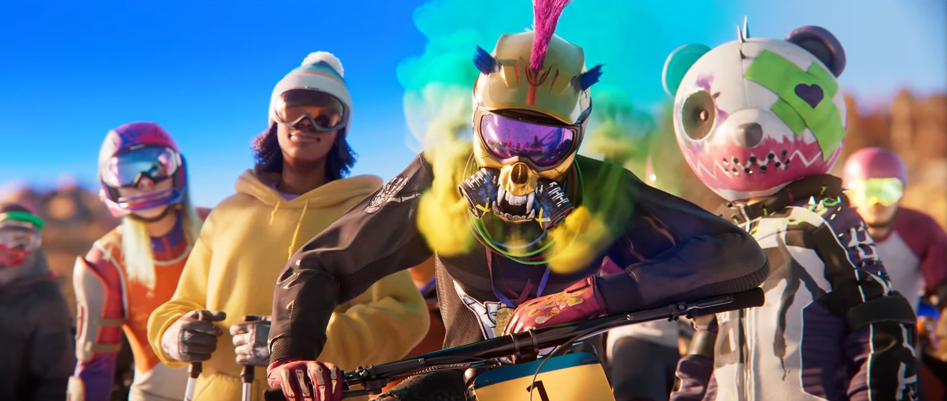 Riders Republic is an out-of-control extreme sports multiplayer game from Ubisoft screenshot