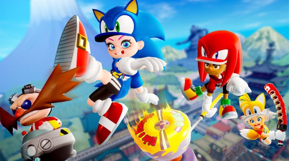 Ninjala reveals fun Sonic the Hedgehog crossover gear screenshot