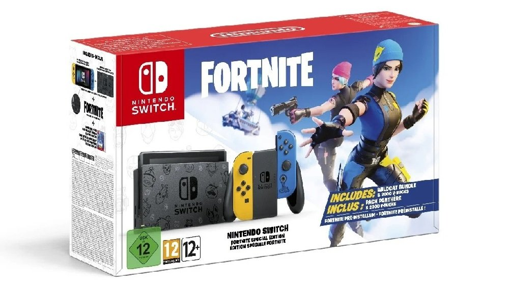 Limited Edition Fortnite Switch coming to Europe and Australia screenshot