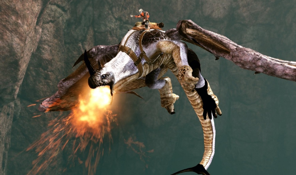 Panzer Dragoon: Remake will glide onto PS4 and PC soon screenshot