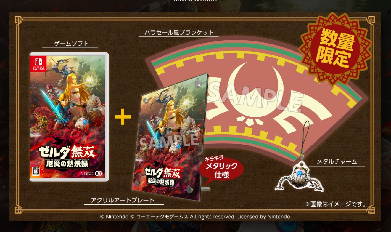 The Zelda: Breath of the Wild Hyrule Warriors prequel is getting a deluxe edition in Japan screenshot