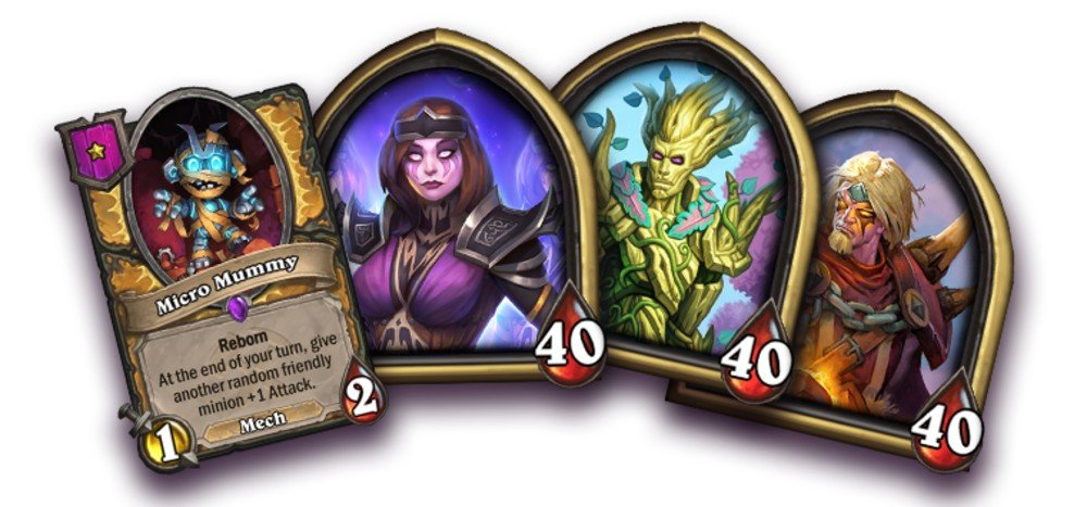 Hearthstone just got three new battlegrounds heroes, with more events on the way screenshot