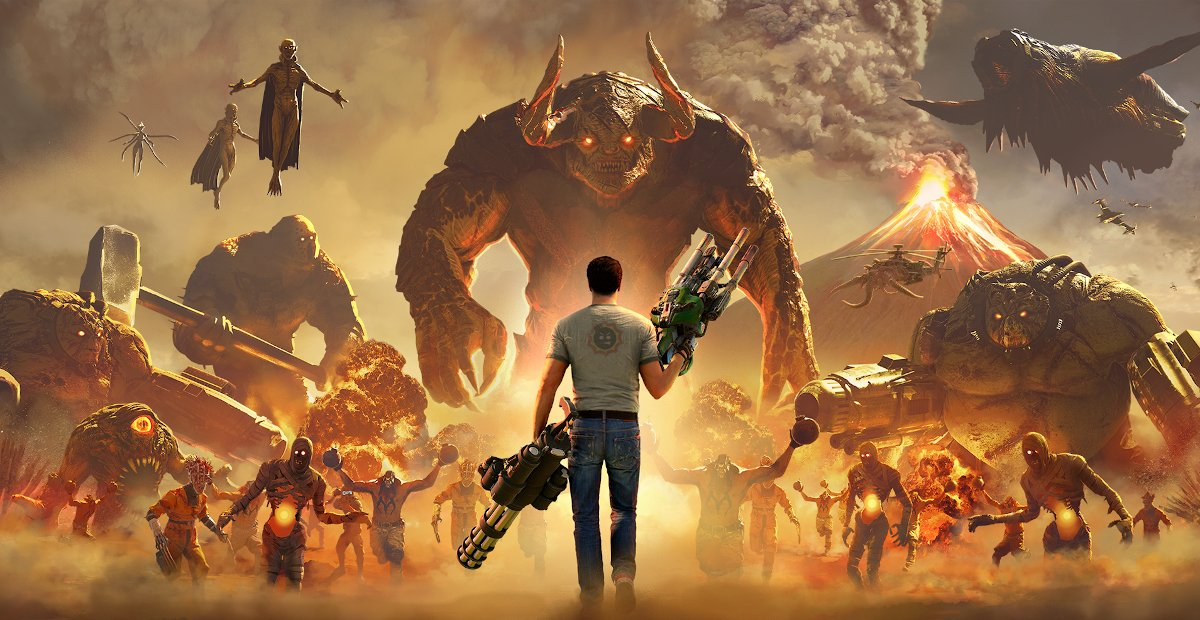 Serious Sam 4 system requirements announced ahead of its impending release screenshot