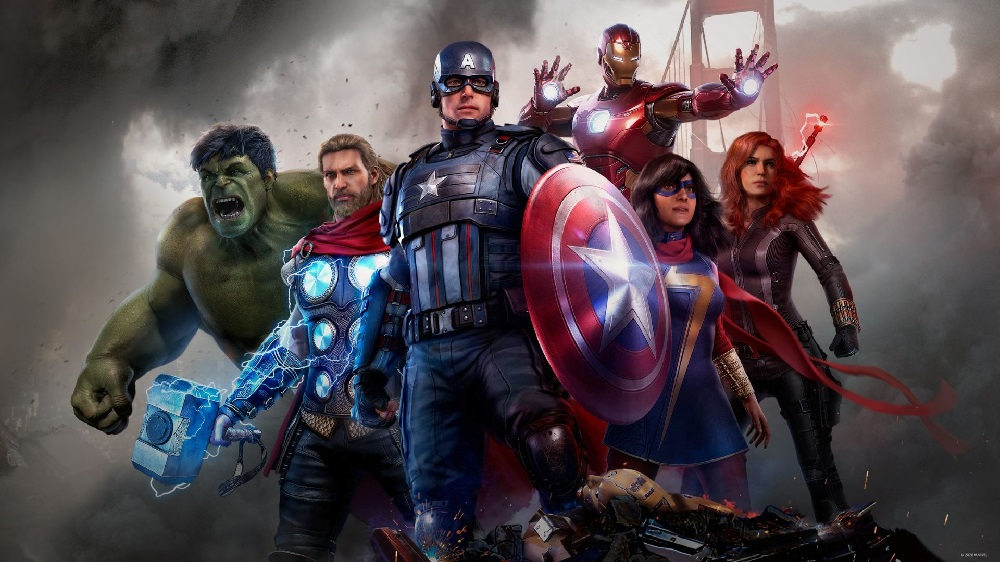 Marvel's Avengers retains the top spot of this week's UK Charts