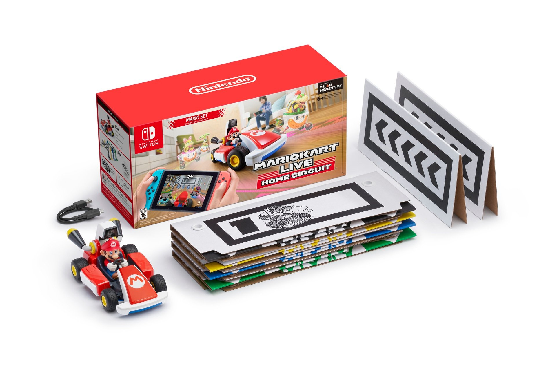 Mario Kart Live: Home Circuit is $100 to start, will require a Switch for each racer screenshot