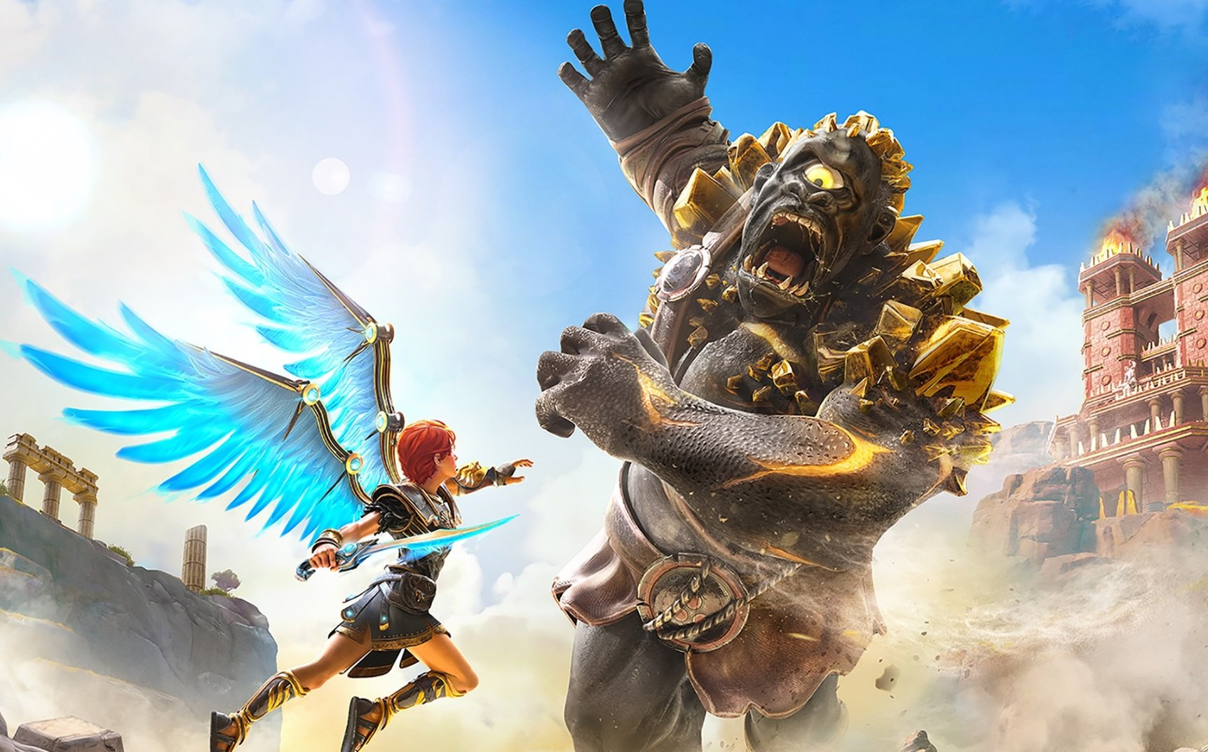 Ubisoft changed Gods & Monsters' name because it violated Monster Energy's trademark screenshot