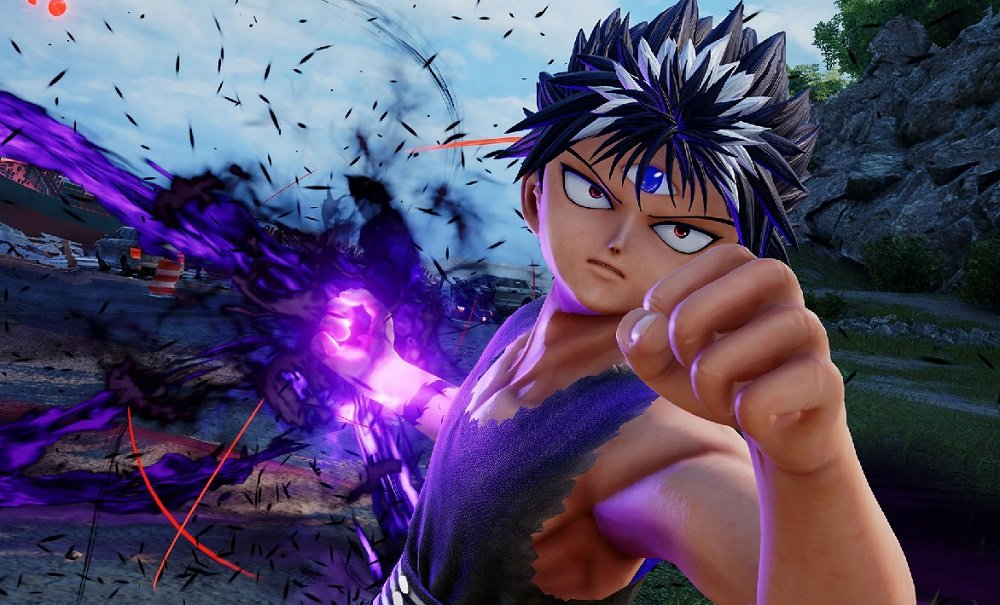 YuYu Hakusho's Hiei is giving Jump Force the evil eye this fall screenshot