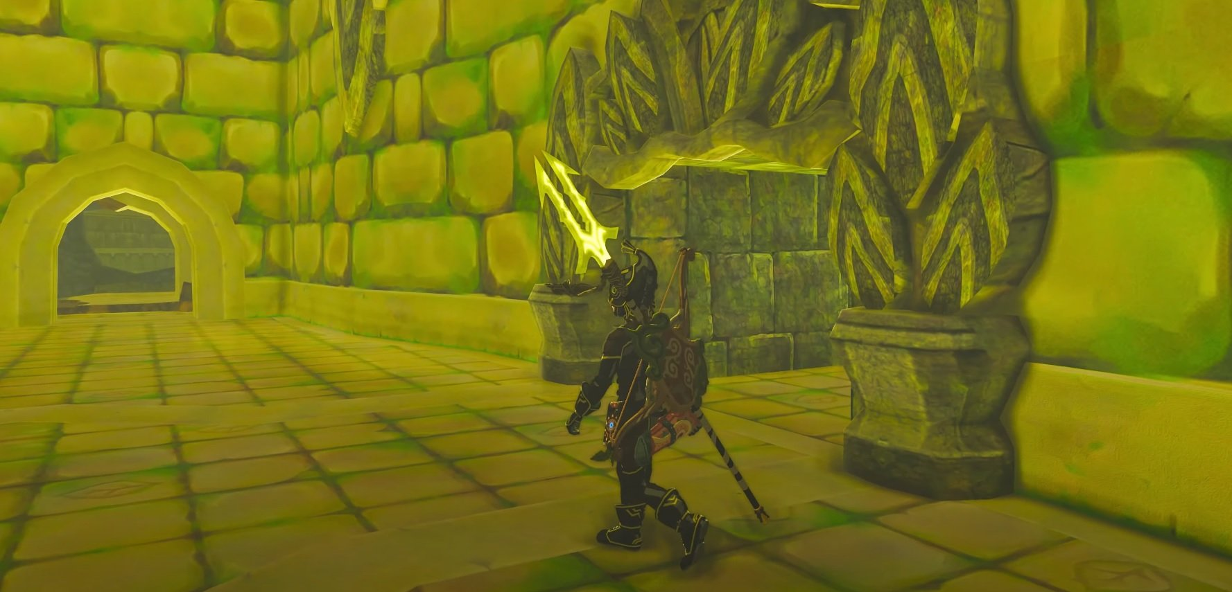 This modder created a 'fully functional custom dungeon' for Zelda: Breath of the Wild screenshot