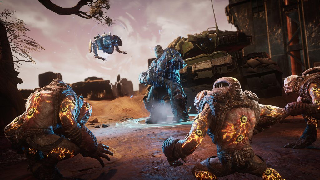 Gears Tactics is getting a major update, including Jack the robot as a playable character screenshot
