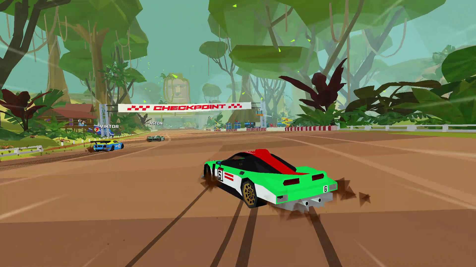 Review: Hotshot Racing screenshot