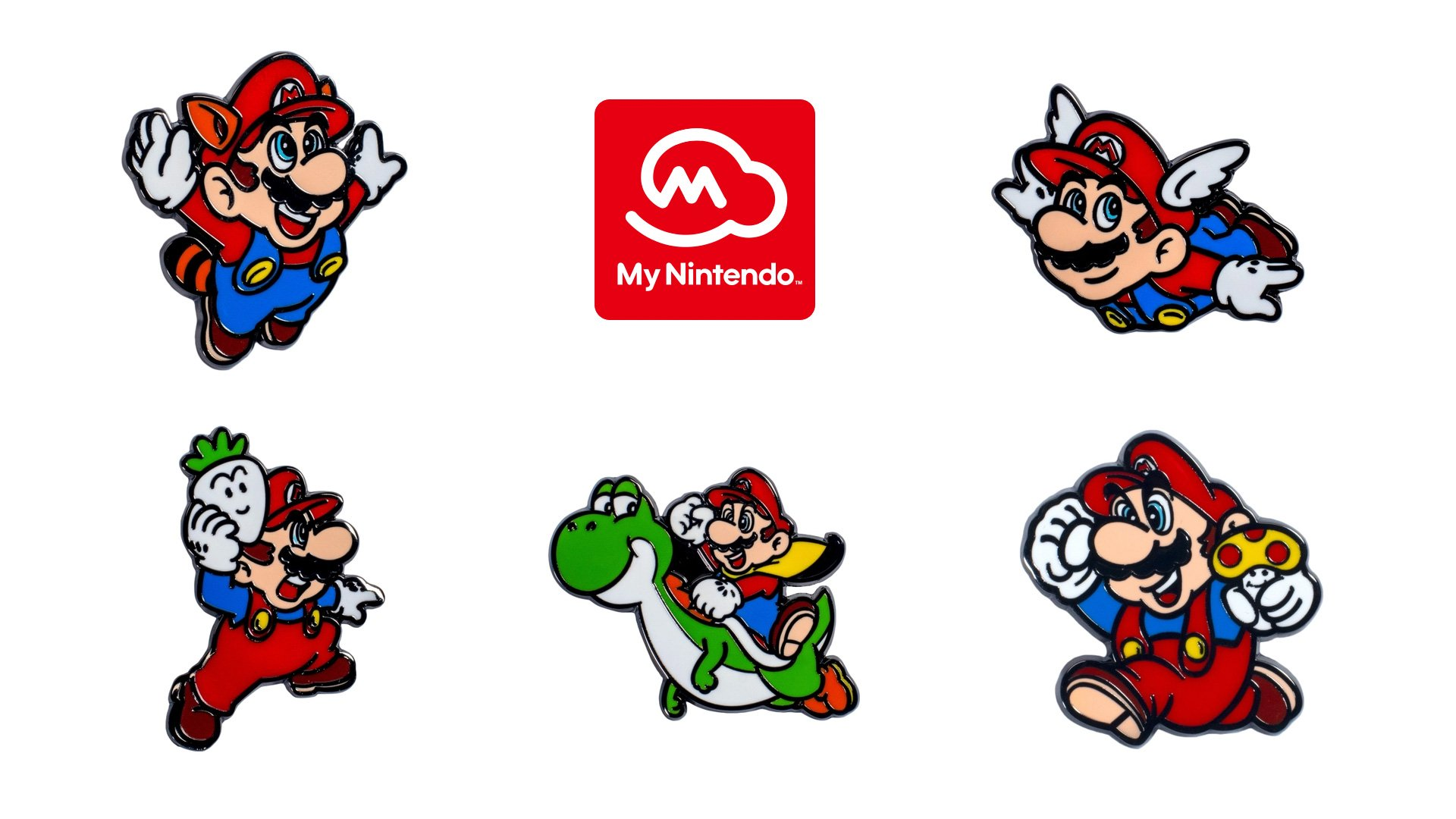 You can now order those Super Mario Bros. 35th Anniversary pins from Nintendo screenshot