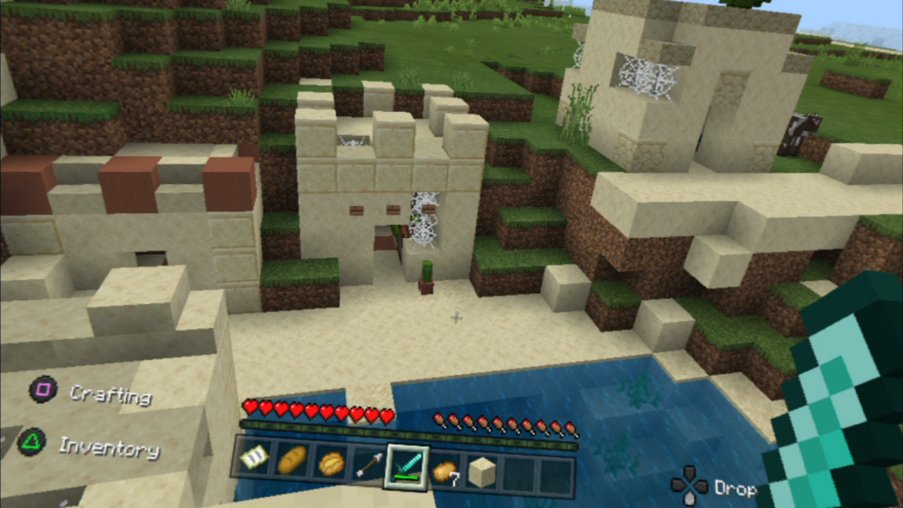Minecraft VR is playable with PlayStation VR thanks to a free update