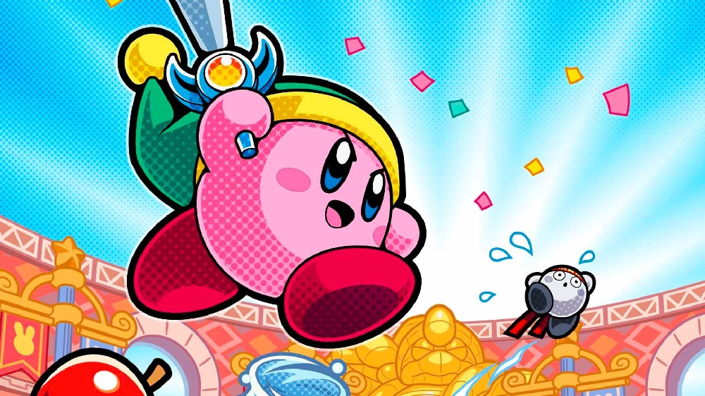 Kirby Fighters 2 for Switch pops up on Nintendo site screenshot