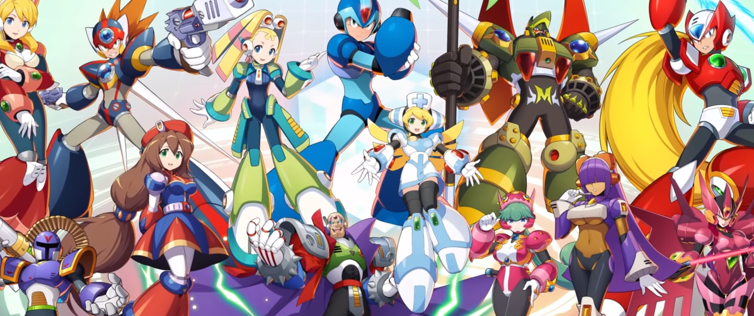 Rockman x Dive is still alive and will launch this fall in Japan screenshot