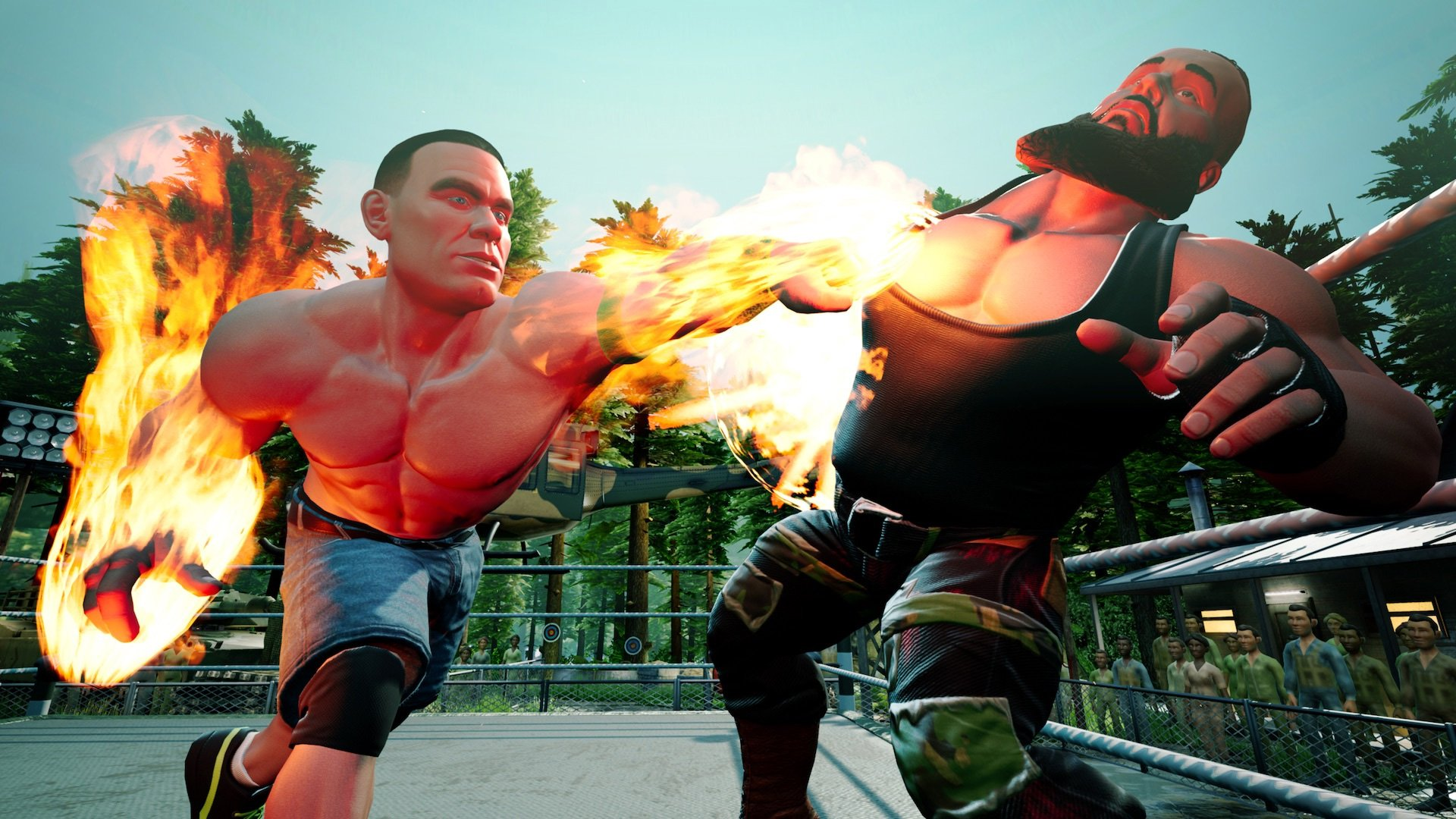 Review: WWE 2K Battlegrounds screenshot