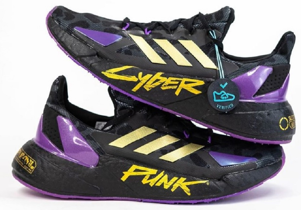 Adidas producing Cyberpunk 2077 sneakers for young and cool people screenshot